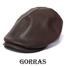 Gorras de cuero
